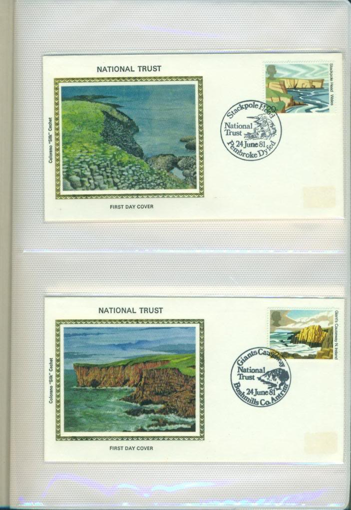 First Day Covers (FDCs)