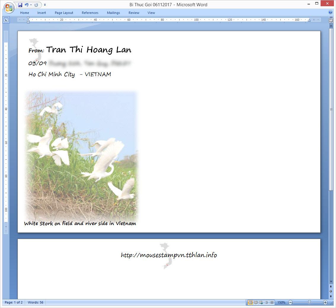 [VN] White Stork Vietnam Cover