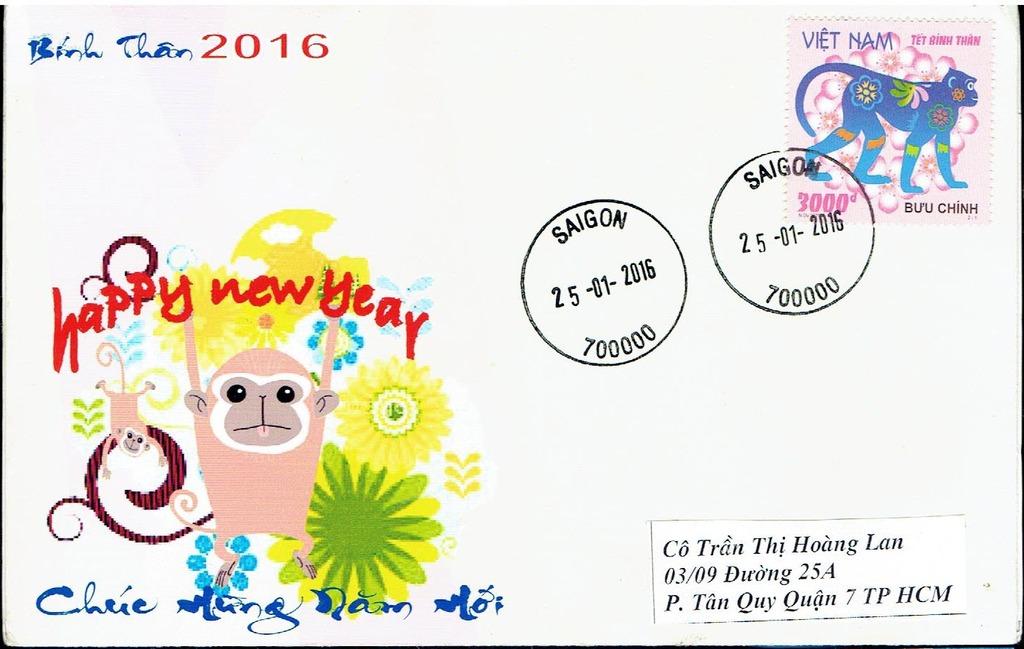 [VIETNAM] Letters on 2016