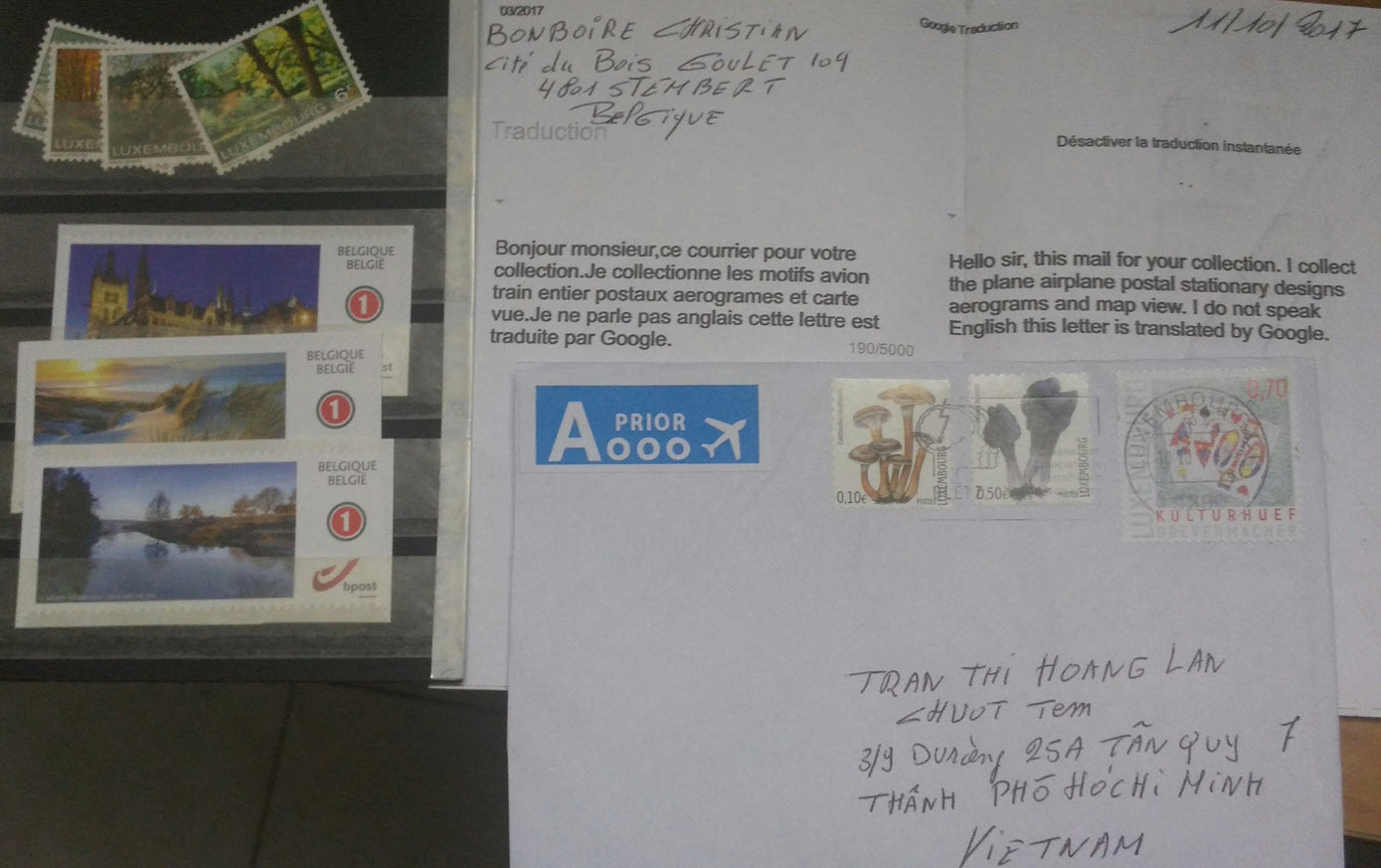 [BELGIUM-4801] First contact letter