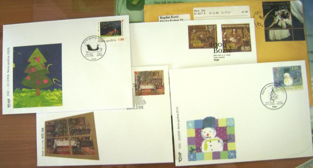 Receive Croatia FDCs Letter