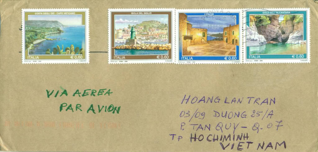 Italia Letter Recieved