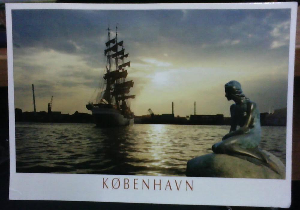 Danmark Kobenhavn Postcard