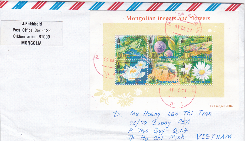 Cover from Mongolia