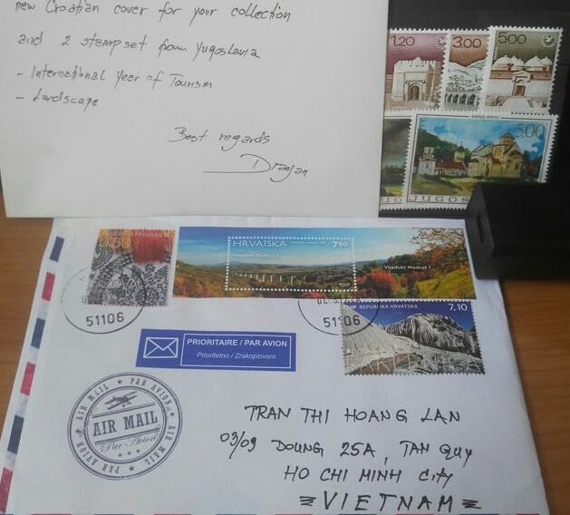 [Mar.Croatia.51000] First letter